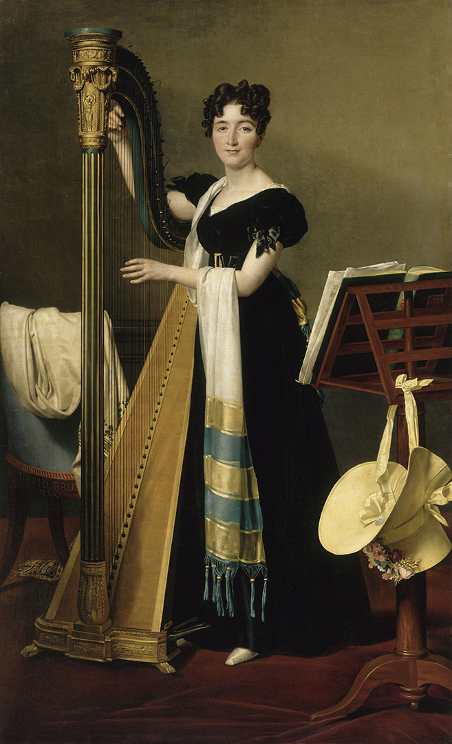 Portrait de Juliette Blait de Villeneuve (1802-1840) | David, Jacques-Louis (1748-1825). Artiste